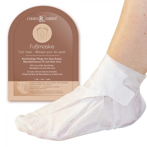CHIARA AMBRA® - Masque pour les pieds