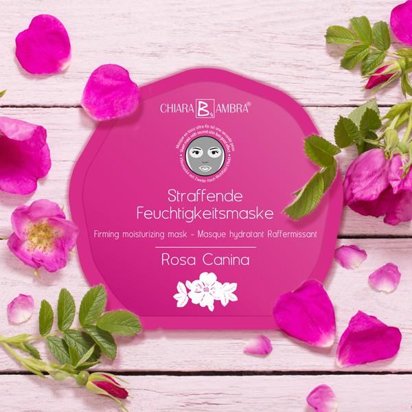 CHIARA AMBRA® Masques hydratants en tissu ultra-fin – ROSA CANINA